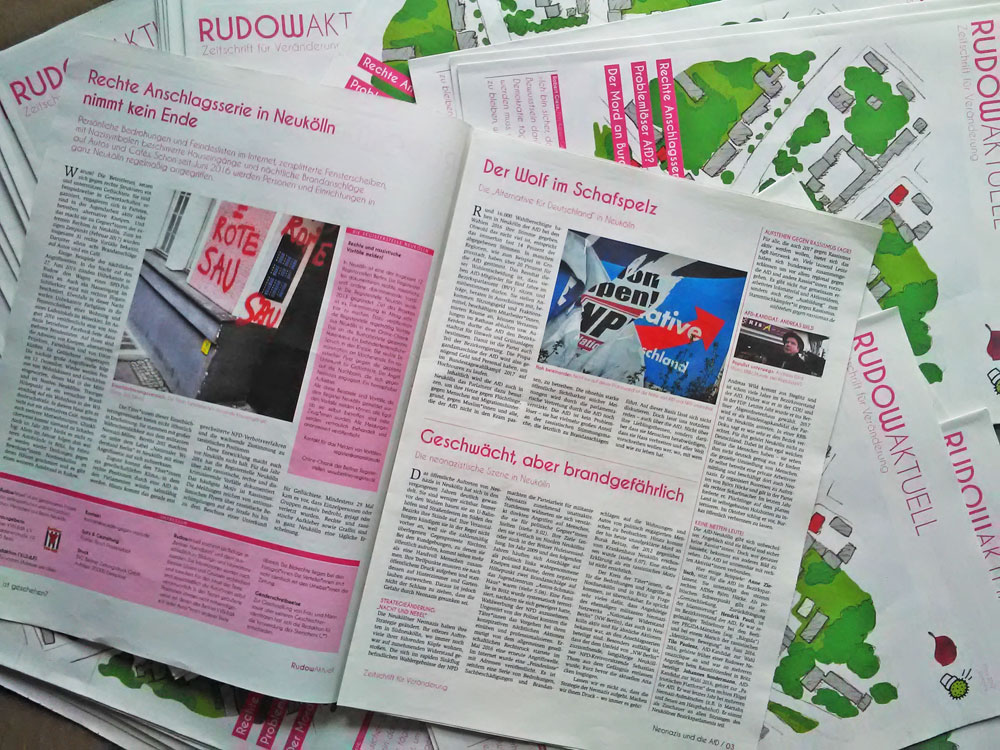 Zeitschrift Rudow Aktuell